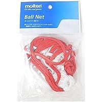 MOLTEN Bnd de R Ball Red, Rojo, 1