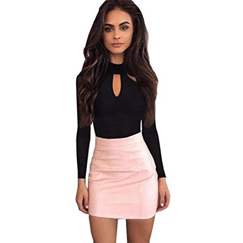 Abcone-donna pullover felpa o-collo tuta clubwear body t-shirt maniche lunghe elegante autunno camicette camicie casual tops