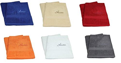 Betz 2 Stück Saunatücher Saunahandtuch XXL Herren Damen 100% Baumwolle Größe 80x200 cm FANCE Farbe anthrazit grau