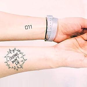 Friends don't lie - 011 - 2 Temporäres Tattoos