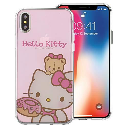 Hello Kitty Sanrio Apple (Sanrio Cute Jelly Case für Apple iPhone XR, Sweety Jelly Hello Kitty (iPhone XR))