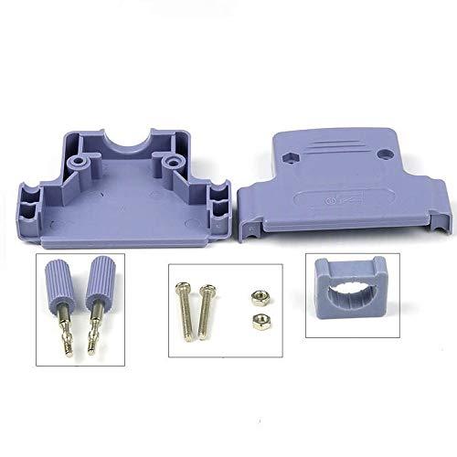 NO LOGO LIUSB-IO, Reine Kupfer DB50 männlich und weiblich 3 Reihen von 50 Pins ABS-Kunststoffschale Plug Connector Plug-in (Farbe : Ivory, Pins : 50P)
