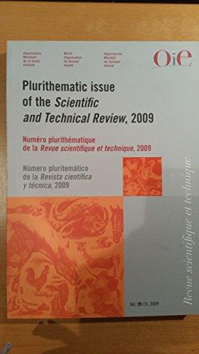 Plurithematic Issue/Numero Plurithematique/Numero Pluritematico (Scientific and Technical Review)