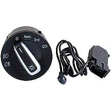 Interruptor de Sensor de Faros Delanteros, Sensor de Faro genérico Cromado, Interruptor para VW