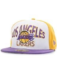 New Era Team Word Arch 2 Cap - LA LAKERS - Yellow-Purple