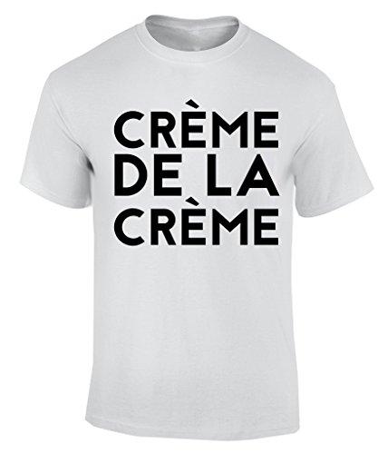 Creme De La Creme T-Shirt Herren Weiß