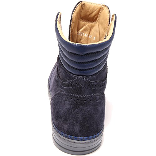 3727G scarponcino uomo blu BRIMARTS scarpa stivale boots shoes men Blu