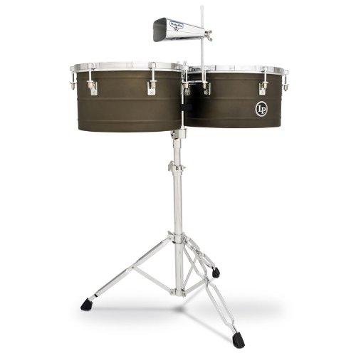 LP Latin Percussion M258, Timbales Matador Antique Coat Steel 14