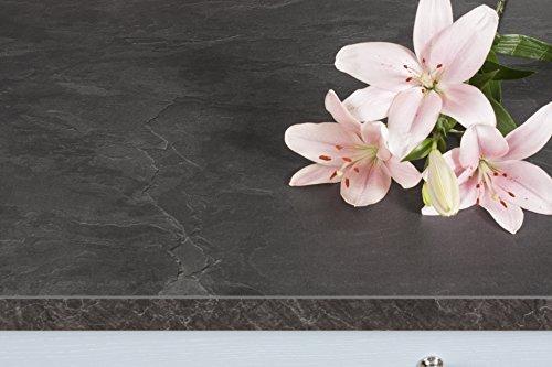 Schwarzer Schiefer - Resopal Küchenarbeitsplatten (3m × 600mm × 38mm)