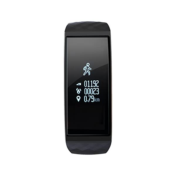 S1 CUBOT Smart tracker pulsera Bluetooth 4.0 impermeable pantalla táctil OLED podómetro rastreador inalámbrico actividad pulsera Smart all-weather Heart Rate Monitor de sueño, Recordatorio de Llamada 2