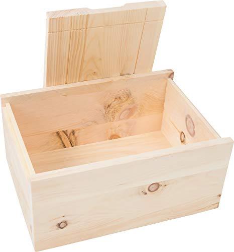 Tiroler Zirbenkissen Zirbenbrotbox 35 cm x 24 cm x 15 cm