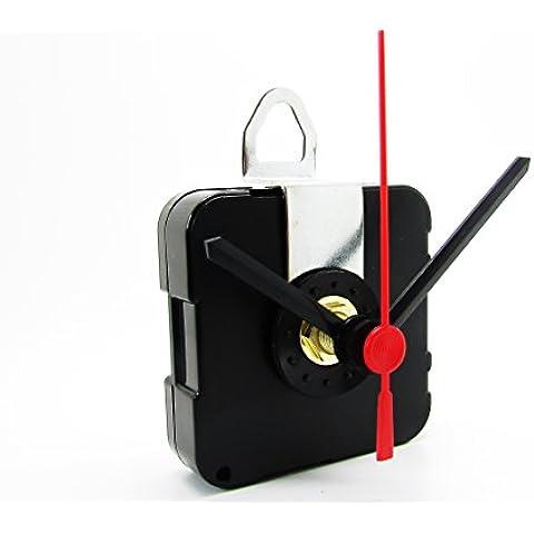Reloj de cuarzo mecanismo de movimiento del motor con–Piezas de 50mm Negro