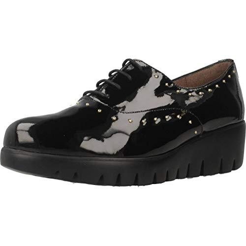 Zapatos para Mujer, Color Negro, Marca WONDERS, Modelo Zapatos para Mujer WONDERS C33133 Negro