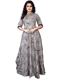 OSLC Women's Clothing Reyon Kurti For Women Latest Design Party Wear Collection