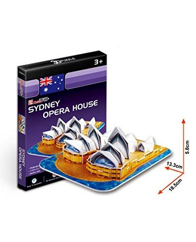 Blancho Sydney Opera House Dreidimensionale Gebäude des Manuelle Montage Papiermodell