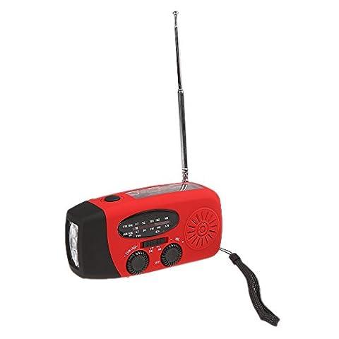 Radio Camping - Gazechimp Radio à Manivelle AM FM NOAA