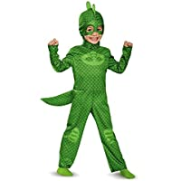 PJ Masks Disguise Gekko Classic Toddler PJ Masks Costume, Large/4T-6T