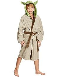 Albornoz infantil Star Wars Yoda verde - 7/9 Jahre