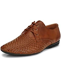 Asken Atelier Brown Formal Shoes For Men @ Discount On Stylish Shoes - B0791B7SSH
