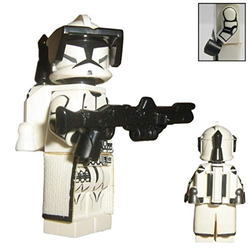 Custom Brick Design Republik Jetpack Clone Trooper Figur V.2 - Customized by CBD (Jet-blaster)
