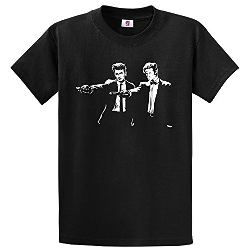 Graphic Impact Inspired Funny Doctor The Who Pulp Funny Fiction T-Shirt