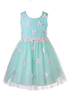 Super cute Girls Dress Ricami Princess Tutu partito del matrimonio vestito delle ragazze dei capretti di fiore...