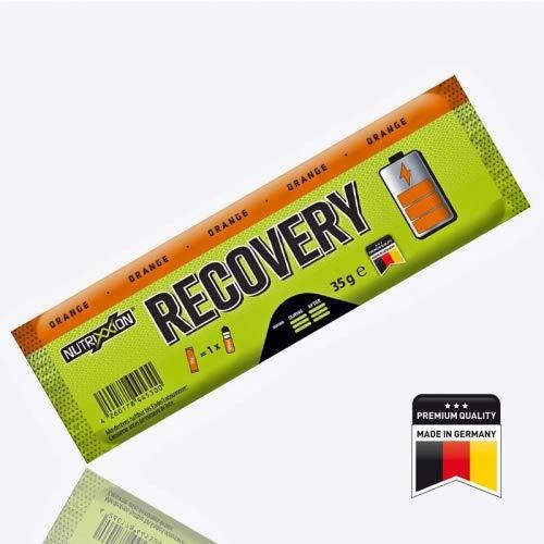 Nutrixxion RECOVERY Drink mit BCAA, Vitaminen & Mineralien Set 35g Stick, Geschmack Orange - 35% Vitamin