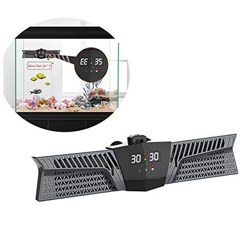 DJLOOKK Aquarium Heizung Doppel PTC Heizung LED Temperaturanzeige Aquarium Heizstab Integrierter Smart Chip DREI Heizmodus Aquarium Heizstab Für 300-1100L Fischbecken,Black,1000W