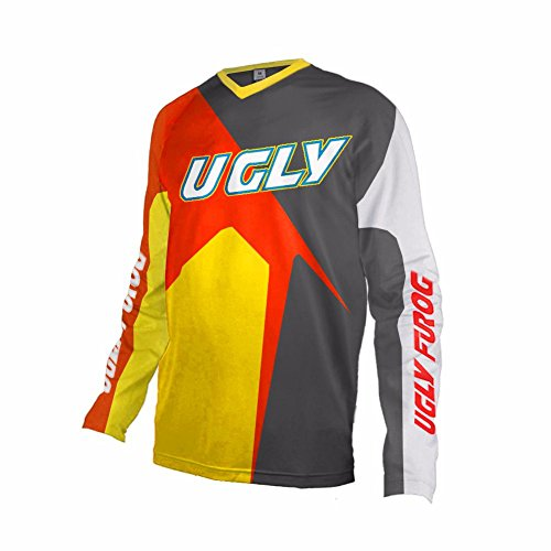 Uglyfrog 2018 Uomini Racewear Jersey MTB/Downhill Cycling Jersey Maniche Lunghe DH Maglia Motocross Offroad Z04