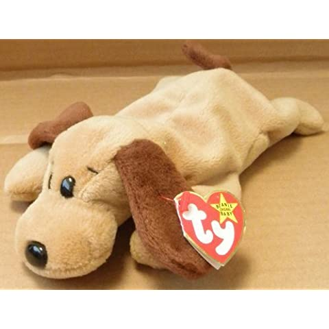 TY Beanie Babies Bones the Hound Dog Plush Toy Stuffed Animal by G63296549