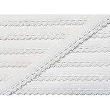 Schwarz 12/mm Polyester 2/m Prym Blumen Design aus elastische Dessous Spitze