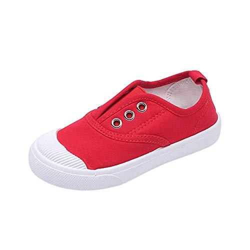Beikoard Kleinkindschuhe Mädchen Jungen Schuhe Unisex Laufschuhe Solider süßer Sneaker Kinderschuhe Baby Segeltuchschuhe Babyschuhe