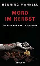 Mord im Herbst: Roman