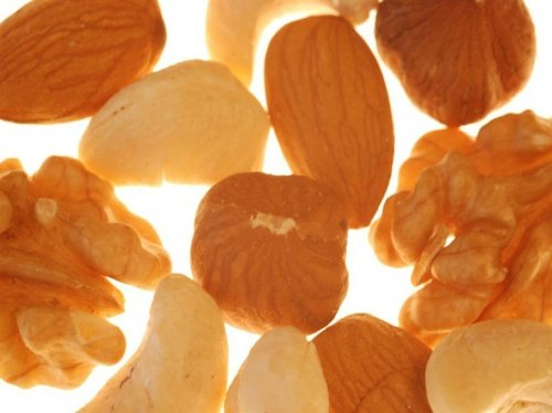 Nussmischung, Nüsse und Saaten, ohne Schwefel, zum Knabbern und Backen und als Müslibeigabe, 1kg - Bremer Gewürzhandel