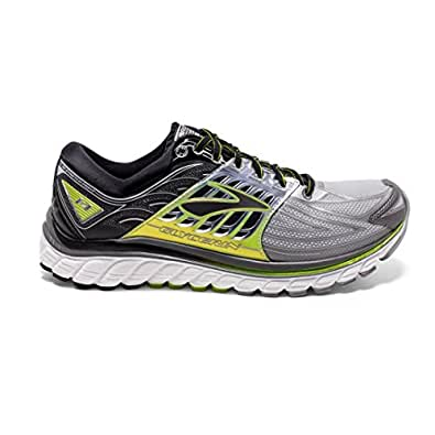 c8c37dfb56d Brooks Glycerin 14 Running Sneaker Shoe Silver lime Mens 12 available at  Amazon for Rs