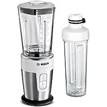 Bosch VitaStyle Mixx2Go MMBM7G2M - Batidora de vaso individual, 350 W, jarra de vidrio