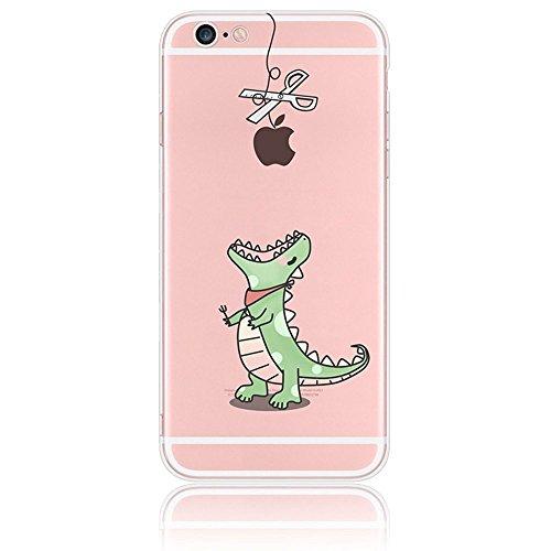 iPhone 4s Case Silicone - Sunroyal® Coque Souple Transparente TPU Silicone en Gel Case Premium Ultra-Light Ultra-Mince Skin de Protection Pare-Chocs Anti-Choc Bumper pour Apple iPhone 4/4s, Fée Pattern 17