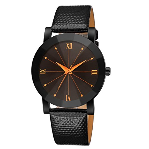 OHQ Classic Damen-Armbanduhr Analog Quarz Edelstahl Armband, Konvexes Zifferblatt mit Elegant Armband (C)