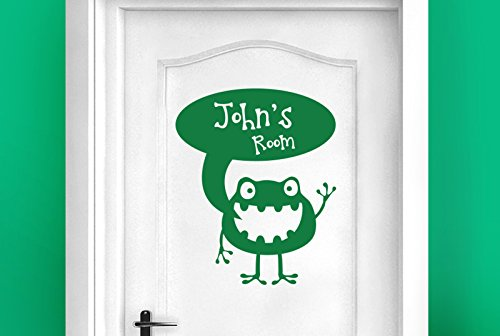 personalisiert Ausländer Kinderraum Zeichen Tür Zimmer Wandtattoos / Wandaufkleber