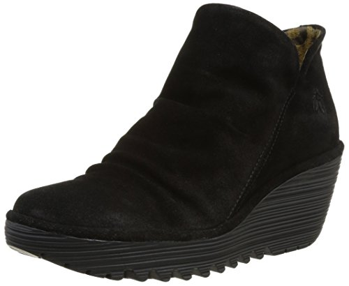 Fly London Yip - Stivaletti Donna, Nero (Black 000), 39 EU