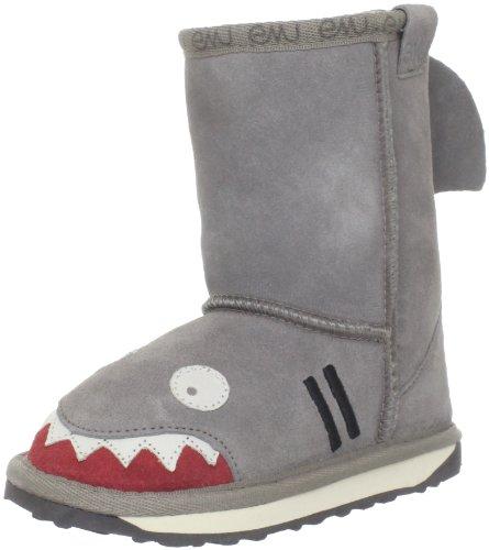 EMU Australia Kids Shark Deluxe Wool Boots (Emu Herren-hausschuhe Australia)