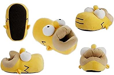 The Simpsons Homer Head Novelty Slippers (Medium)