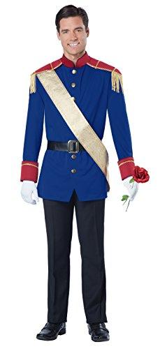 Imagen de disfraz de príncipe de cuento de hadas para hombre