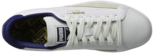 Puma Match 74 Upc, Sneakers Basses Homme Blanc (White-blue Depths)
