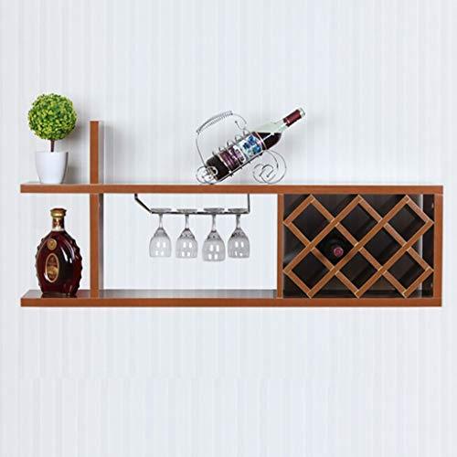 Mtx ltd portabottiglie portabottiglie portabottiglie da vino bar decorazione da parete vetrinetta da vino salotto da parete moderno appendiabiti da vino, 2#