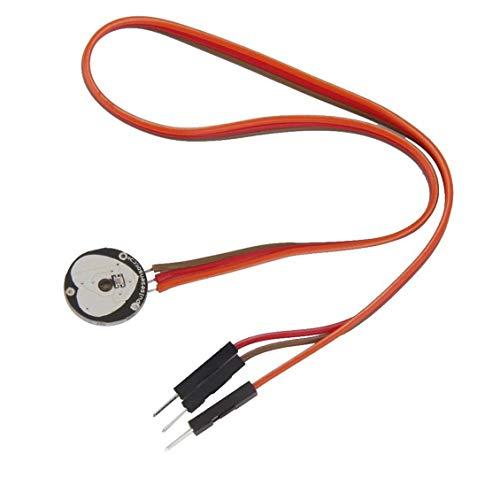 Prima05Sally Amplificatore del pulsossimetro pulsesensor frequenza cardiaca Battito Amplificatore per Arduino Raspberry Pi Open Source con Cavo elettronico Fai da Te