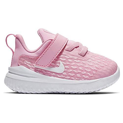 Nike Unisex Baby Rival (TDV) Niedrige Hausschuhe, Mehrfarbig Rise/White/Pink Foam 600, 21 EU (Nike Schuhe Mädchen Baby Für)