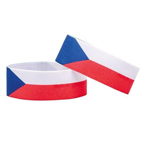 Fanlets Fan-Armbänder Tschechien - Größe M