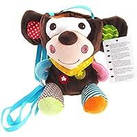 Klinkamz Baby F/ütterung Milk Bottle Isolierung Cover Halter Futterstation Thermo Bag Warmer Tier Pl/üsch Spielzeug