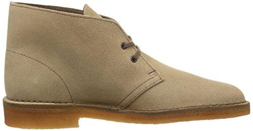 Clarks Originals Desert Boot, Herren Desert Boots Kurzschaft Stiefel & Stiefeletten Grau (Wolf)